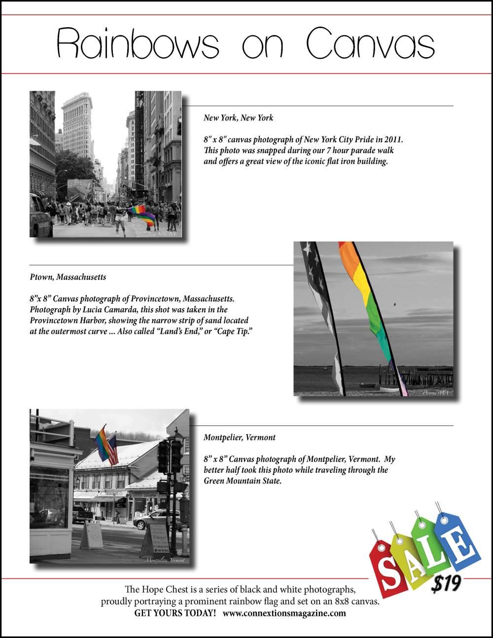 Ad for Rainbow Canvas